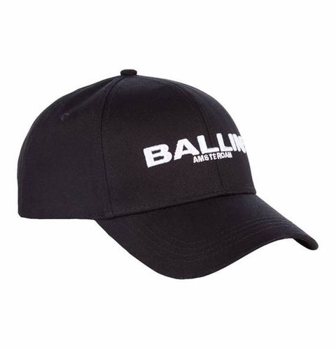 Cap, Clothing, Black, White, Baseball cap, Headgear, Trucker hat, Font, Fashion accessory, Hat,
