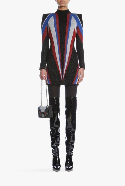 Clothing, Outerwear, Electric blue, Footwear, Jacket, Fashion, Sleeve, Leather, Leggings, Blazer,