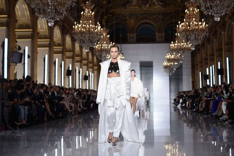 ec63a59f Balmain to return to the Paris couture schedule for the first time in 16  years
