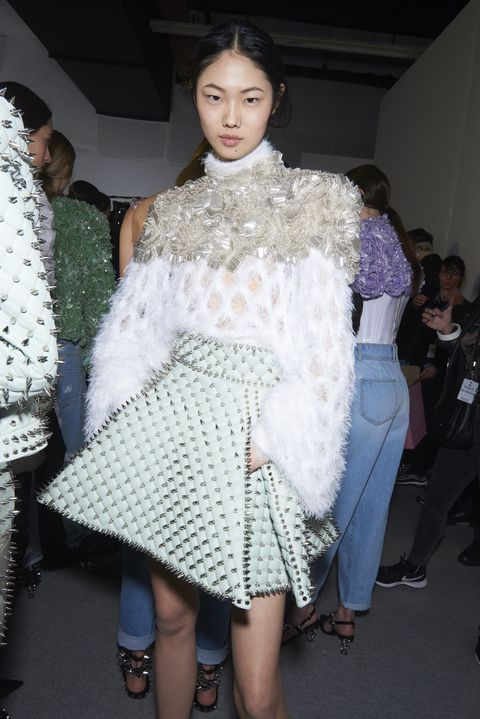 c4822a7aea Exclusive Backstage Photos from Balmain Fall/Winter 2019