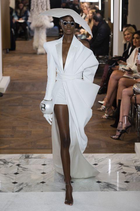 Balmain couture SS19