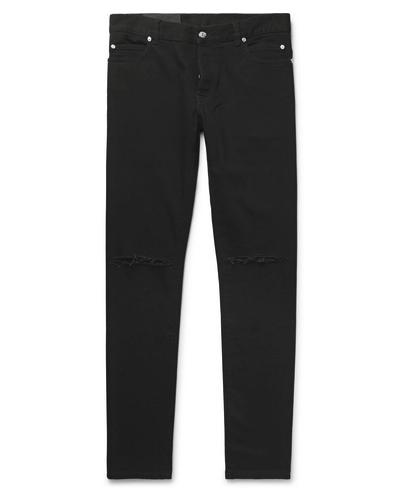 Balmain pantalones negros hombre, pantalones hombre, pantalones slim fit