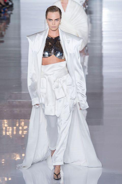Balmain, Balmain Women SS 19, Paris fashion week, fashion week, primavera estate 2019, real time women SS 19