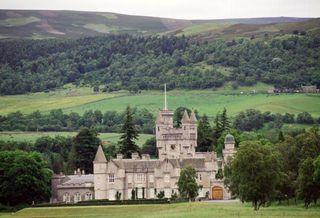 Balmoral Castle, the Royals' Scottish home