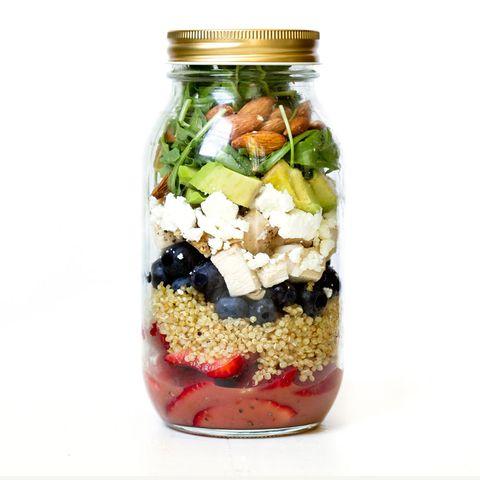 Balsamic Chicken Berry and Quinoa Salad