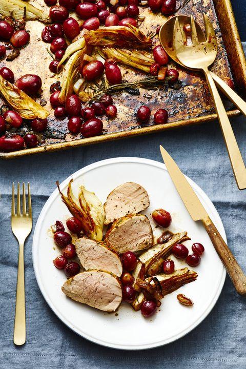 balsamic rosemary pork