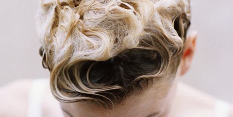 Hairstyle, Chin, Forehead, Style, Hair coloring, Blond, Photography, Brown hair, Close-up, Hair accessory,