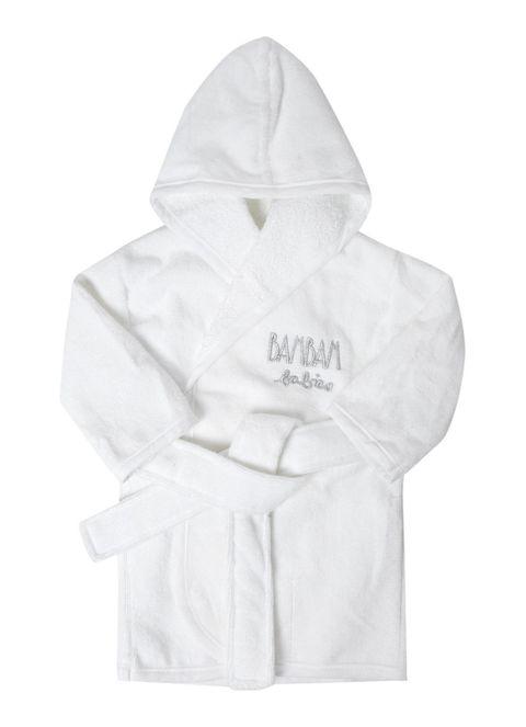 witte badjas voor babies