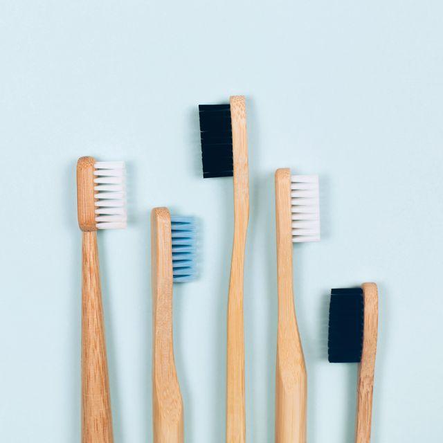 bamboo toothbrushes set