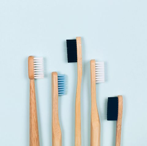 bamboo toothbrushes set