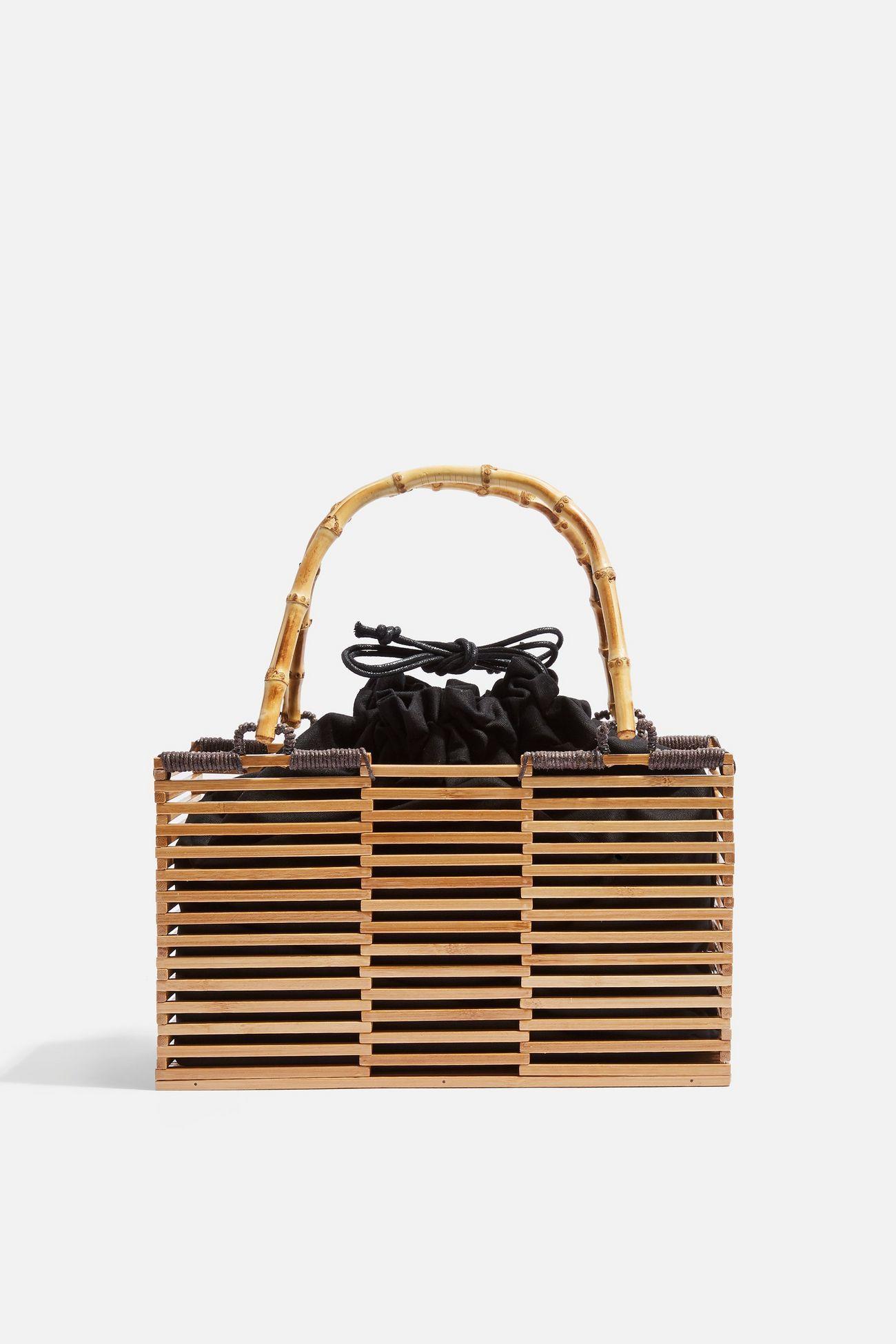 Topshop bamboo bag