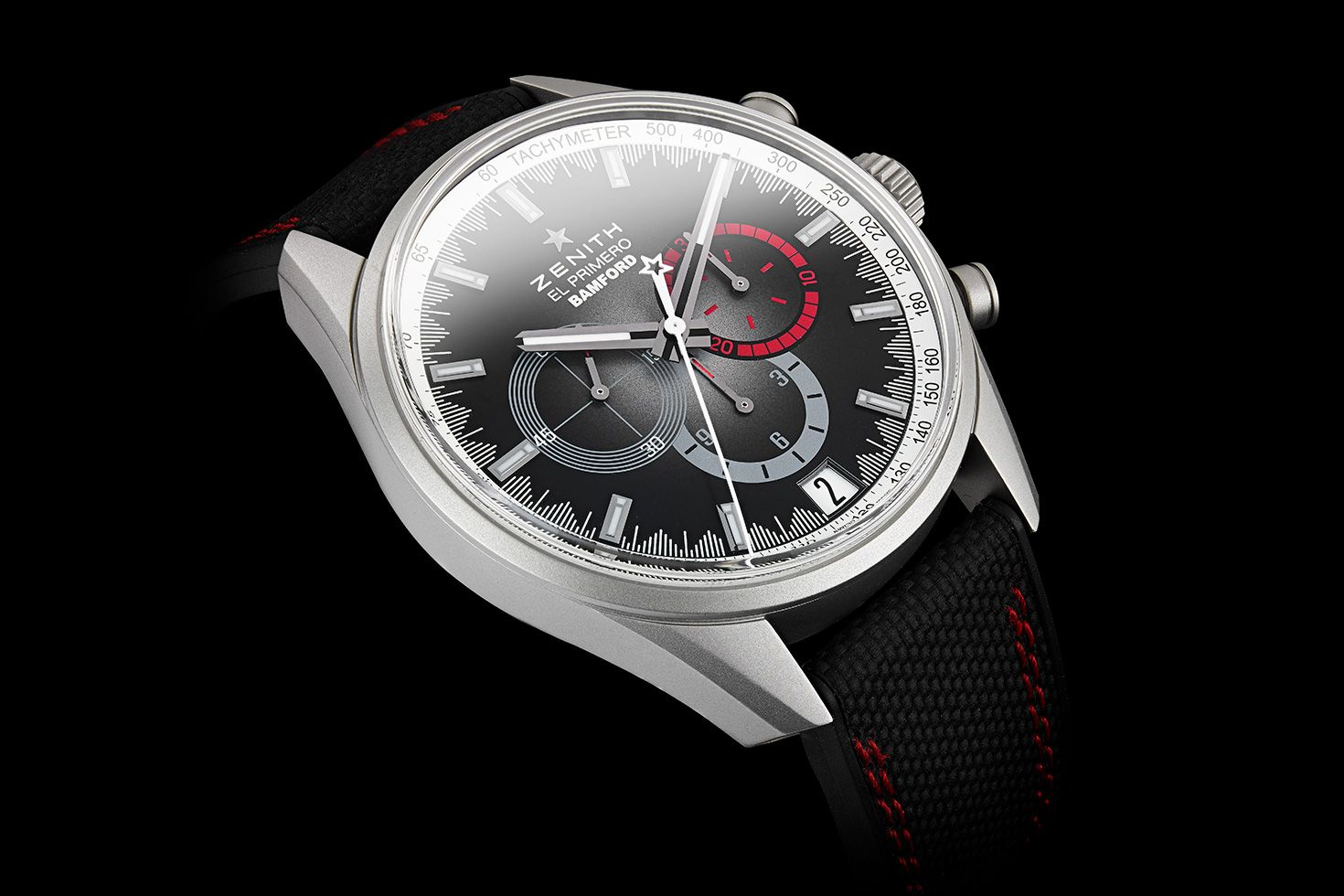"""Zenith and Bamford collaborate on boutique-only El Primero """"Red Radar"""""""