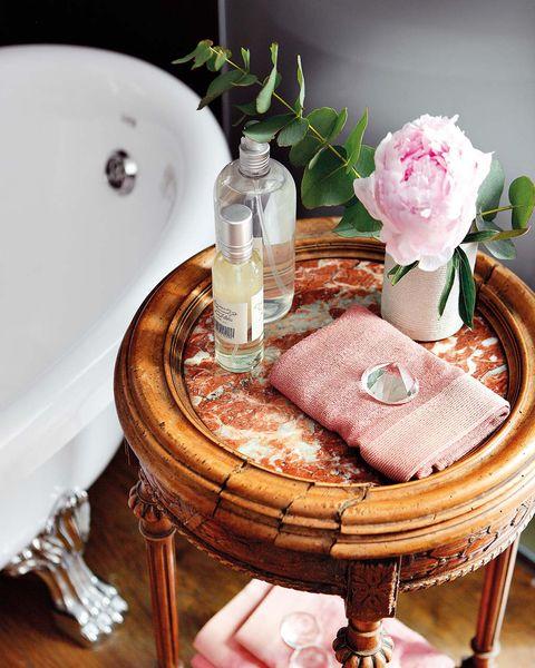 baño vintage bañera exenta con patas de valadares