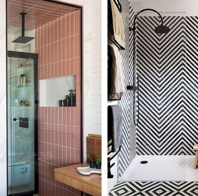 ideas originales para elegir el azulejo del baño