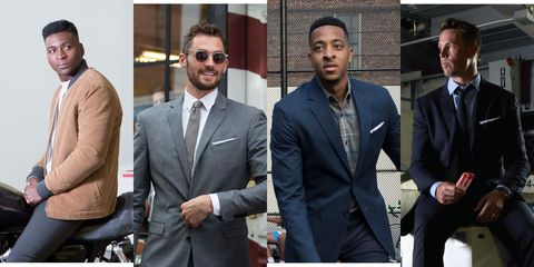 Suit, White-collar worker, Event, Formal wear, Blazer, Outerwear, Bodyguard, Muscle, Businessperson, Facial hair,