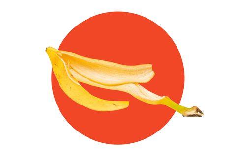 Banana family, Banana, Yellow, Illustration, Plant, Fruit, Food, Clip art, Graphics, Logo,
