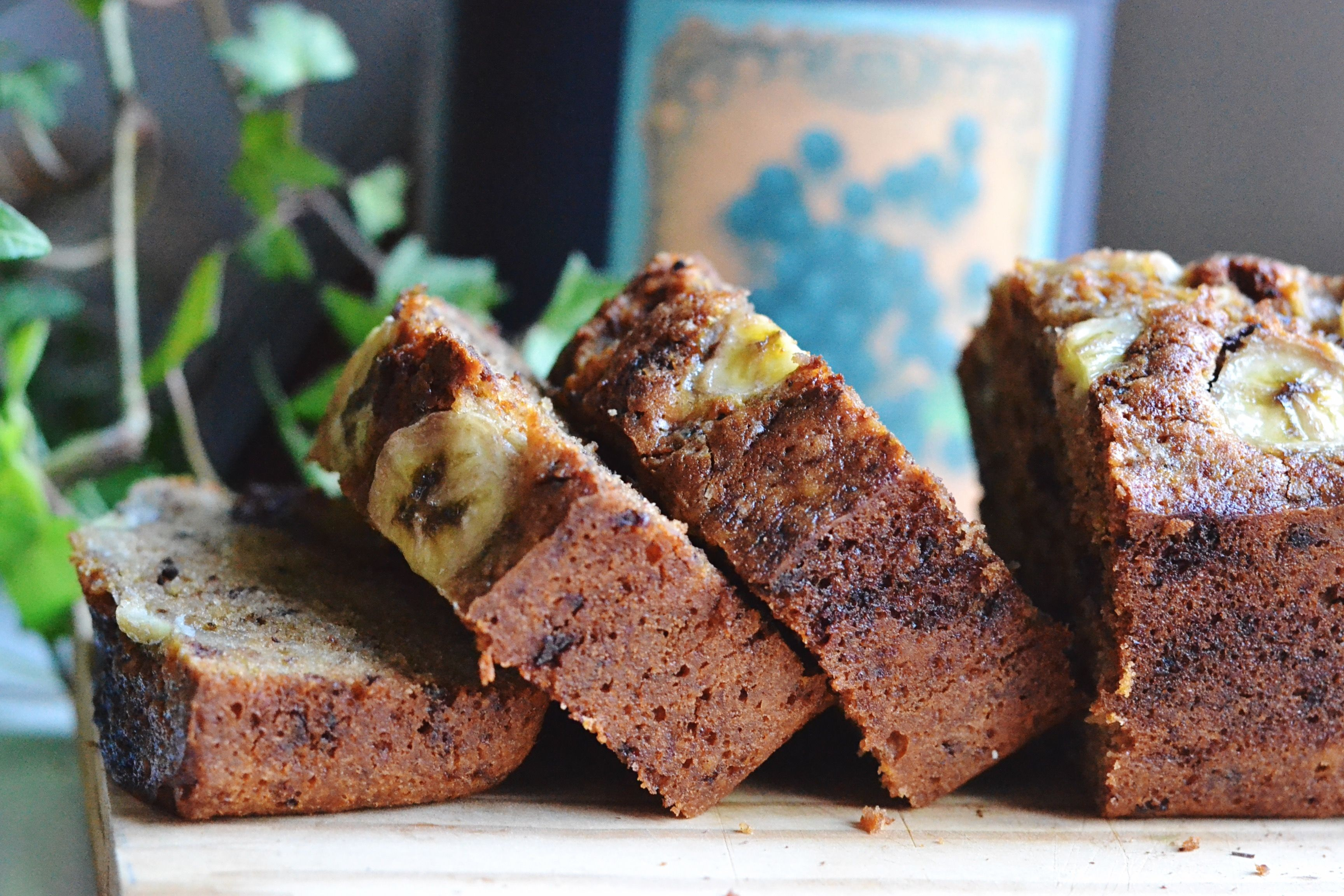 Try this - Gluten-free, blueberry banana bread, perfect for runners