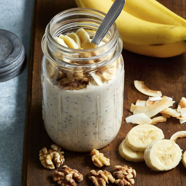 banana cream pie overnight oats