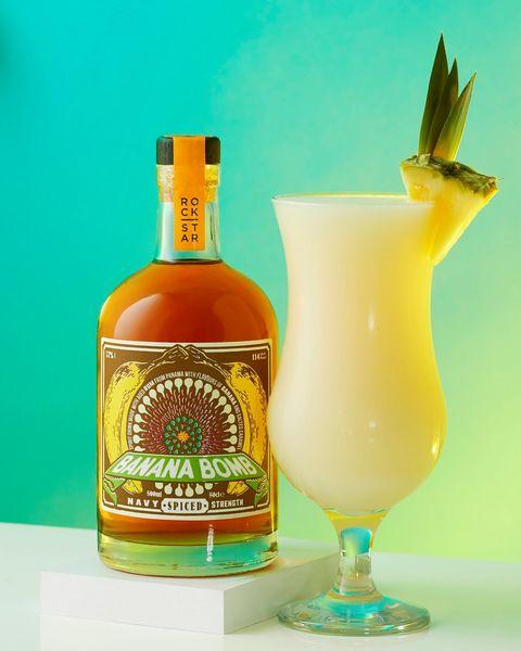 banana colada cocktail recipe