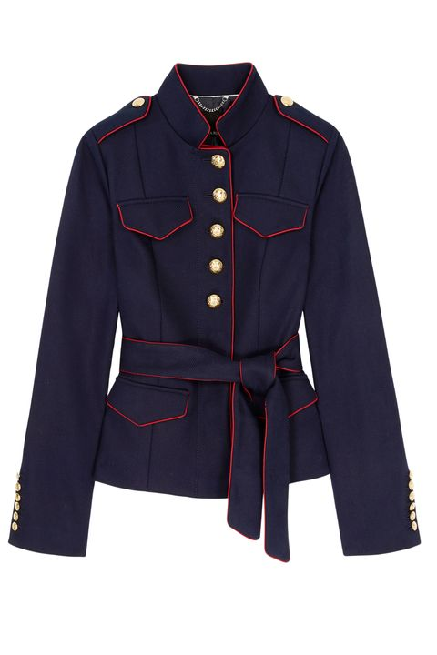 Clothing, Outerwear, Sleeve, Coat, Jacket, Collar, Overcoat, Uniform, Trench coat, Blazer,