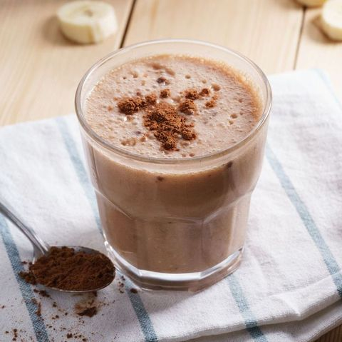 high protein mocha shake