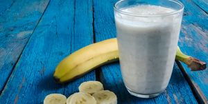 Banana smoothies and Banana fruit for weight loss seen...