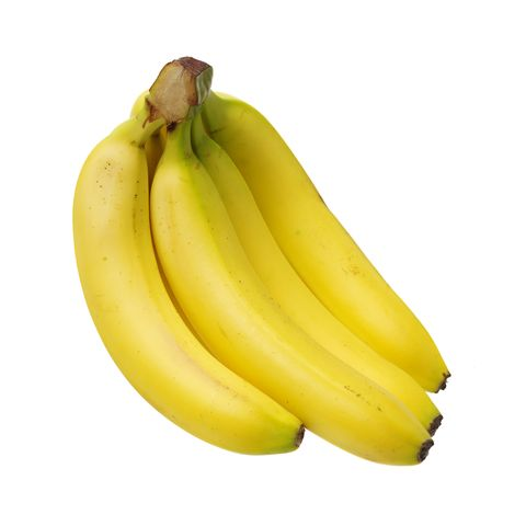 Banana Bunch isolated over white background