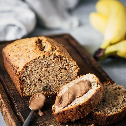 bananenbrood met pindakaas glazuur recept