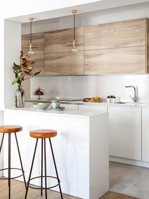 Cocina estilo industrial: Zona de aguas y cocción