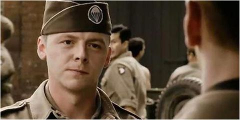 simon pegg in band of brothers