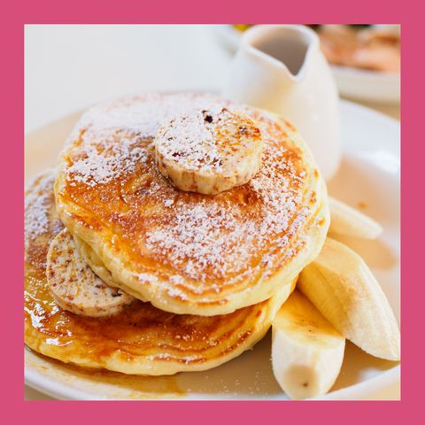 banana bread griddle cakes