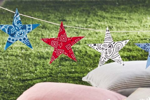 Summer DIY Crafts Star Bunting