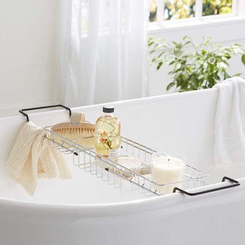 bandeja de bañera de alambre
