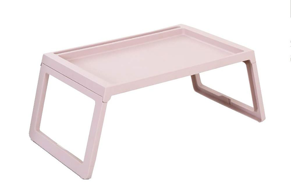 Bandeja de cama rosa