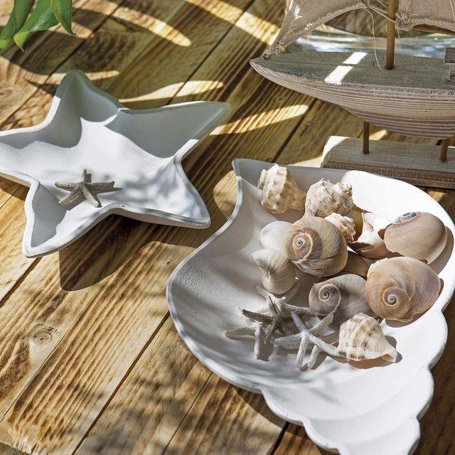 Platos y fuentes de inspiración marina