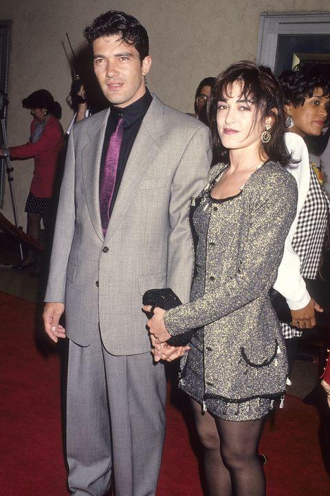 Antonio Banderas y su primera esposa Ana Leza