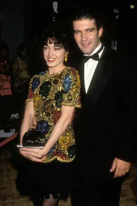 Antonio Banderas y Ana Leza, primera mujer