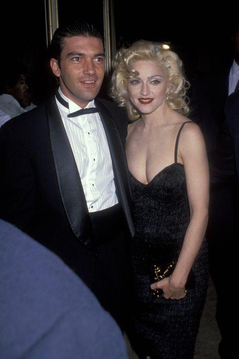 Antonio Banderas y Madonna en 1991