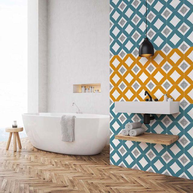 Cuarto de baño: bañera exenta