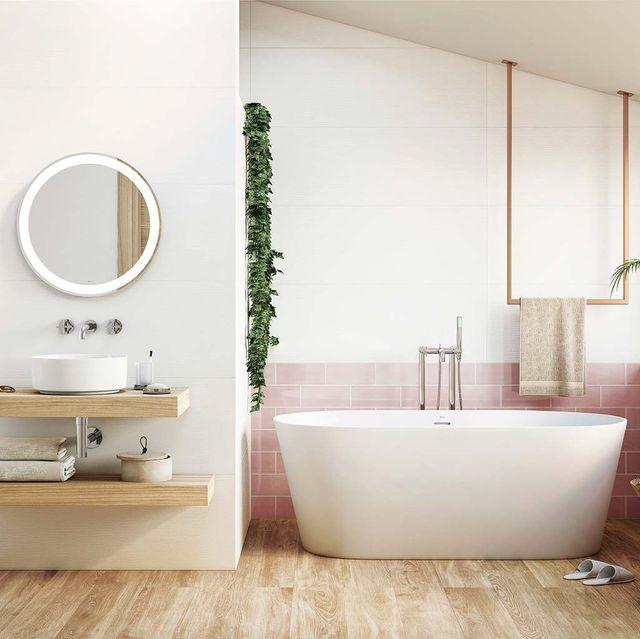 Bathroom, Room, Interior design, Property, Tile, Floor, Wall, Plumbing fixture, Tap, Sink,