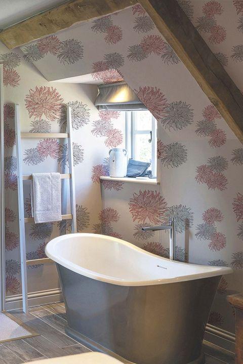 bañera exenta gris mondragó