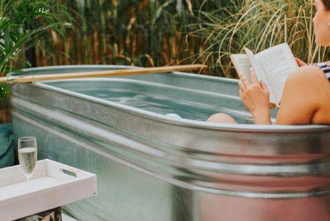 baño con glamor y estilo bañera exenta y tina