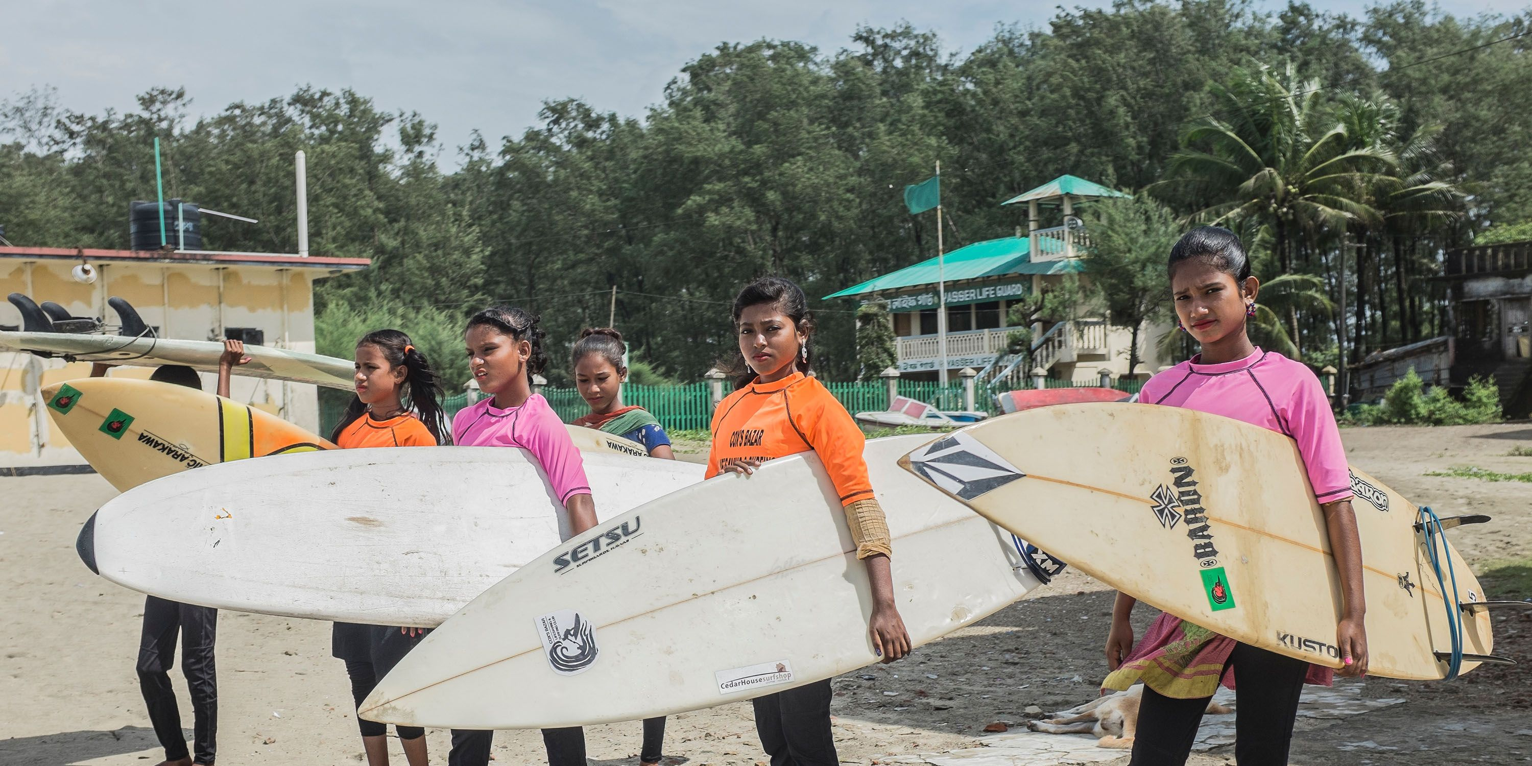 Surfer Girls of Bangladesh