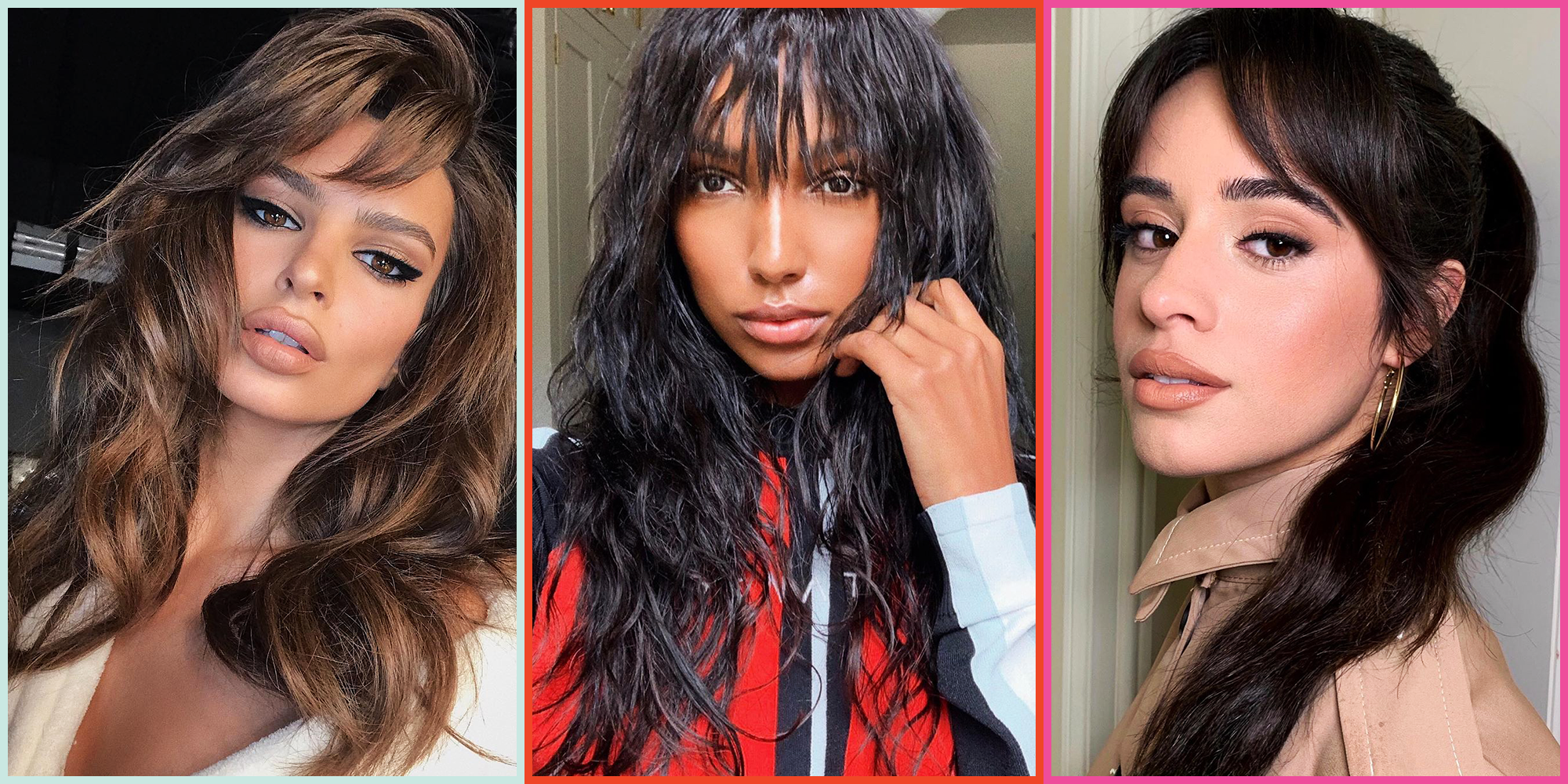 20 Types of Bangs for Every Hair Texture and Length in 2020