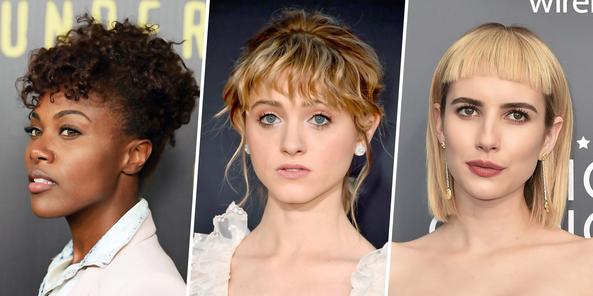 10 pretty bangs trends of 2018 - new bangs hairstyles & ideas for women
