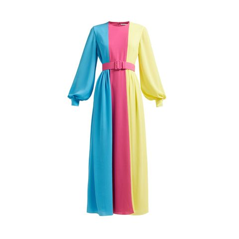 Clothing, Turquoise, Dress, Green, Pink, Sleeve, Yellow, Aqua, Outerwear, Day dress,