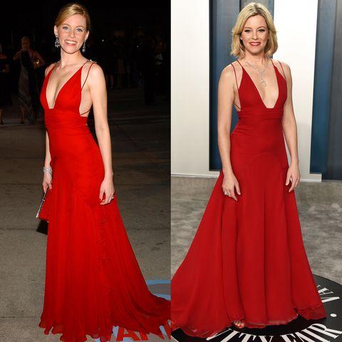 Gown, Dress, Clothing, Fashion model, Shoulder, Red, Formal wear, Neck, Carpet, A-line,