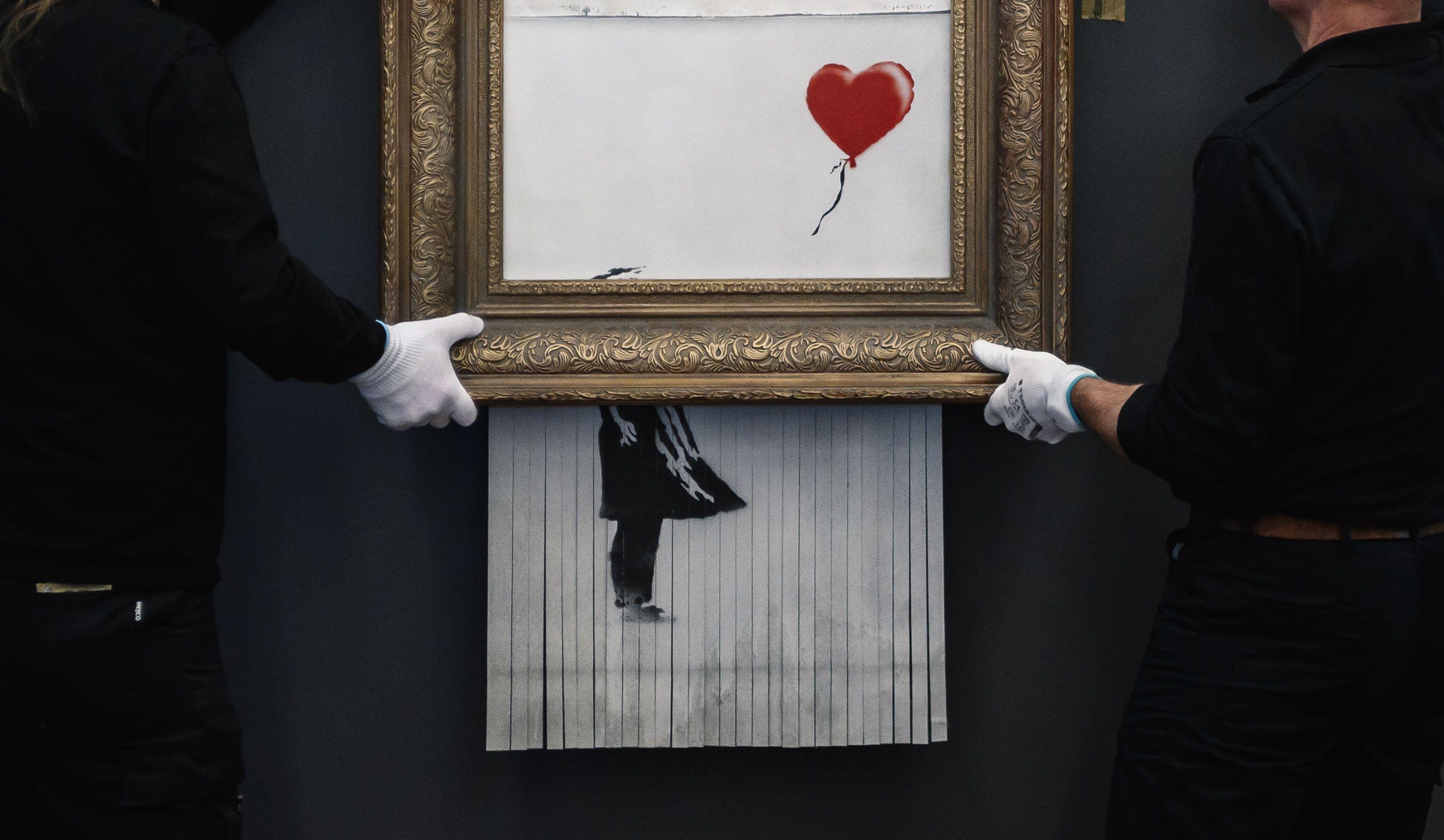 Lo strano modo di Banksy di autenticare le sue opere