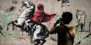 Banksy refugiados París