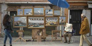 Banksy en Venecia